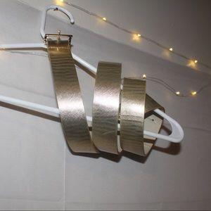 Forever 21 Gold Belt